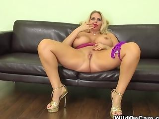 Greatest Pornographic Star Karen Fisher In Crazy Big Tits, Blonde Porno Movie