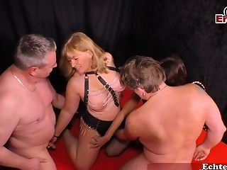 German Inexperienced Homemade Swapper Orgy