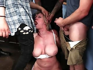 Excellent Scenes Of Ass Fucking Gang-bang In Rough Restrain Bondage Tryout