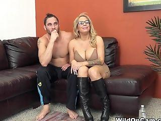 Best Porn Industry Stars Alyssa Lynn, Damon Dice In Exotic Blonde, Cougar Fuck-fest Clip