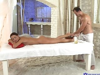Natural Tits Sweetheart Adele Sunshine Massaged And Fucked By A Dude