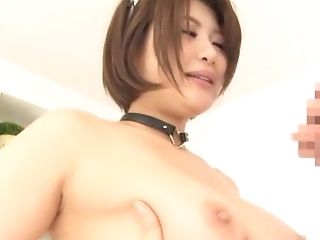 Oshikawa Yuri Lets A Friend Fuck Her While Her Boobies Bounce Up And Down