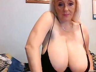 34k Hefty Tits Mummy On Web Cam