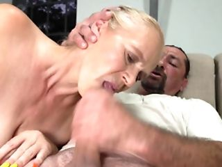 Old Granny Gets Her Cunt Tongued And Fucked Cautiously