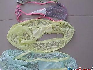 School Gf Used Holiday Underpants