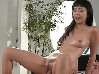 Asian Beauty Rails Her Man Until The Last Drop Of Sperm