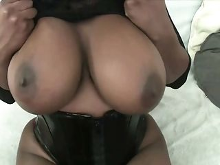 Dark-hued Honey Ms. Panther Gets Her Taut Cunt Plowed Sans Grace