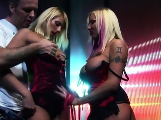 Crazy Adult Movie Stars Gabriela Glazer And Nataly D'angelo In Best Double Penetration, Undergarments Fuckfest Movie