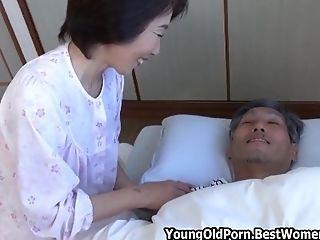 Asian Japanese Cougar Michiko Likes Fuck Her Fellows