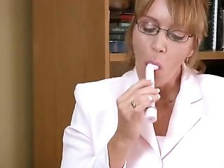 Samantha Stone Office Getting Off