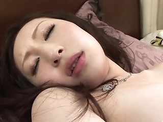 Japanese Dark-haired Solo Model Masturbates With Fucktoys In Her Hairy Gash