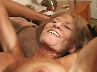 Matures Granny With Large Faux Tits Luvs Having Romp With A Stud